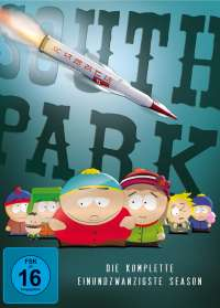 South Park Season 21, DVD