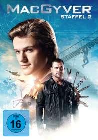 MacGyver Staffel 2, DVD