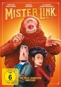 Chris Butler: Mister Link - Ein fellig verrücktes Abenteuer, DVD