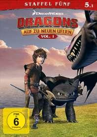Dragons - Auf zu neuen Ufern Staffel 5 Vol. 1, DVD