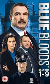 Blue Bloods Season 1-9 (UK Import), DVD