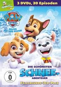 Paw Patrol - Die schönsten Schnee-Abenteuer, DVD
