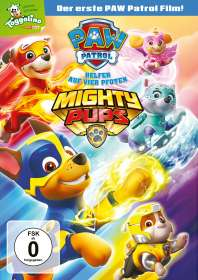 Paw Patrol: Mighty Pups, DVD