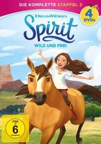 Spirit - Wild und Frei - Die komplette Staffel 2, DVD