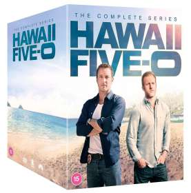 Hawaii Five-O Season 1-10 (UK Import), DVD