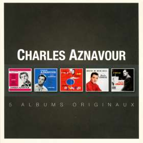 Charles Aznavour: Original Album Series, 5 CDs