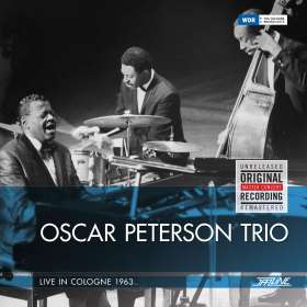 Oscar Peterson (1925-2007): Live In Cologne 1963 (remastered), 2 LPs