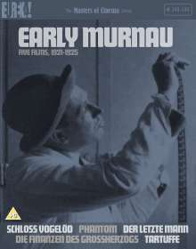 Early Murnau: Five Films, 1921-1925 (Blu-ray) (UK-Import), 3 Blu-ray Discs