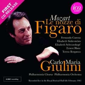 Wolfgang Amadeus Mozart (1756-1791): Die Hochzeit des Figaro, CD