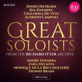 Great Soloists From The Richard Itter Archive, CD