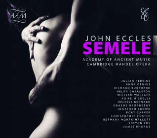 John Eccles (1668-1735): Semele, CD