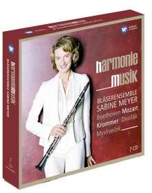 Bläserensemble Sabine Meyer - Harmoniemusik, 7 CDs