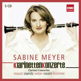 Sabine Meyer spielt Klarinettenkonzerte I, 5 CDs