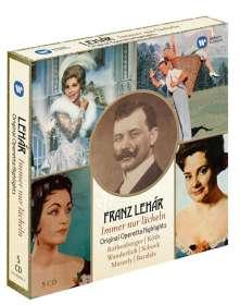 Franz Lehar (1870-1948): Immer nur lächeln - Operettenquerschnitte (Exklusiv für jpc), CD