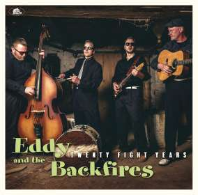 Eddy And The Backfires: Twenty Fight Years, CD