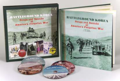 Battleground Korea - Songs and Sounds of America's Forgotten War, 4 CDs