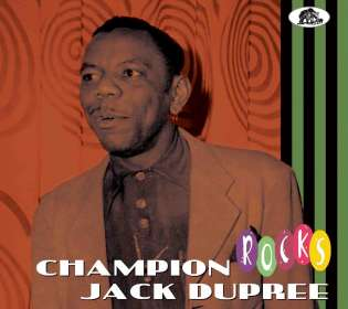 Champion Jack Dupree: Rocks, CD