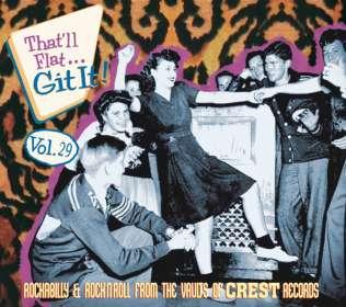 That'll Flat Git It Vol.29, CD