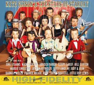 Nate Gibson & The Stars Of Starday, CD