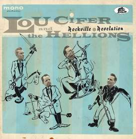 Lou Cifer & The Hellions: Rockville Revelation, CD