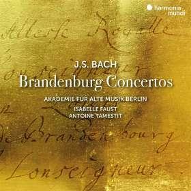 Johann Sebastian Bach (1685-1750): Brandenburgische Konzerte Nr.1-6, CD