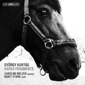György Kurtag (geb. 1926): Kafka-Fragmente für Sopran & Violine, SACD