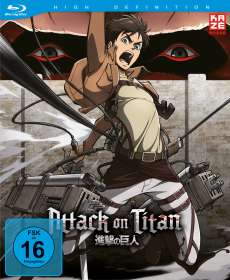 Tetsuro Araki: Attack on Titan Vol. 1 (Blu-ray), BR