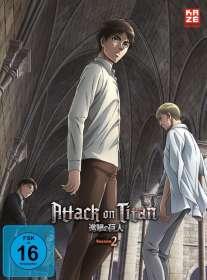 Tetsuro Araki: Attack on Titan Staffel 2 Vol. 2, DVD