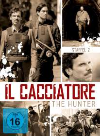 Davide Marengo: Il Cacciatore - The Hunter Staffel 2, DVD