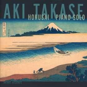 Aki Takase (geb. 1948): Hokusai: Piano Solo, CD