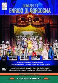 Gaetano Donizetti (1797-1848): Enrico di Borgogna, DVD