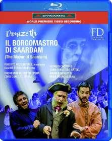 Gaetano Donizetti (1797-1848): Il Borgomastro di Saardam, Blu-ray Disc