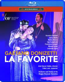 Gaetano Donizetti (1797-1848): La Favorite, Blu-ray Disc
