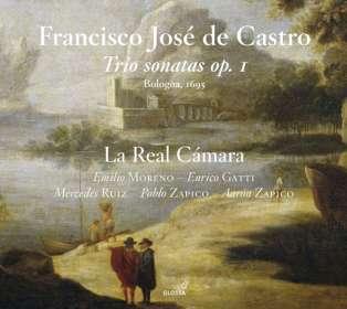 """Francisco Jose de Castro (1670-1730): Triosonaten op.1 Nr.1-12 - """"Trattenimenti armonici da camera"""" (Bologna 1695), CD"""