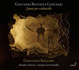 Giovanni Battista Costanzi (1704-1778): Sonate per Cello, CD