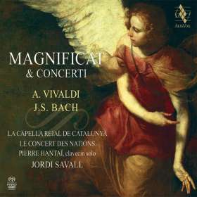 Johann Sebastian Bach (1685-1750): Magnificat D-Dur BWV 243, SACD