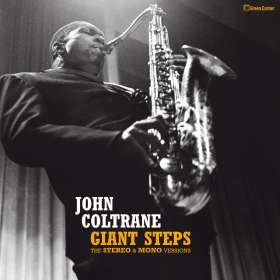 John Coltrane (1926-1967): Giant Steps: The Stereo & Mono Versions (remastered) (180g) (Limited-Edition), LP