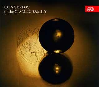 Konzerte der Stamitz-Familie (exklusiv für jpc), CD