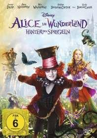 Alice im Wunderland - Hinter den Spiegeln, DVD