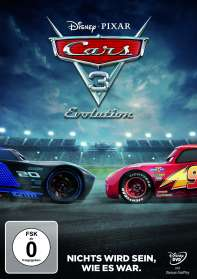 Cars 3: Evolution, DVD