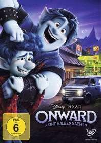 Dan Scanlon: Onward - Keine halben Sachen, DVD