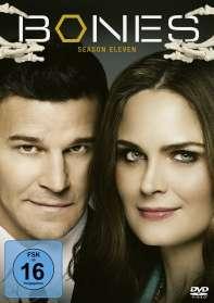 Bones - Die Knochenjägerin Staffel 11, DVD