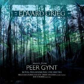 Edvard Grieg (1843-1907): Peer Gynt (Ausz.) (180g), LP