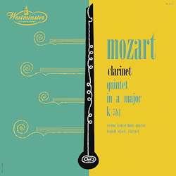 Wolfgang Amadeus Mozart (1756-1791): Klarinettenquintett KV 581 (180g), LP