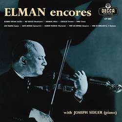 Mischa Elman - Encores, LP