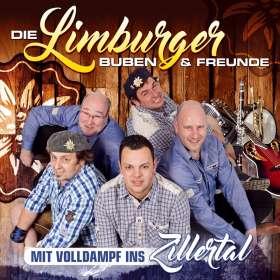 Die Limburger Buben & Freunde: Mit Volldampf ins Zillertal, CD