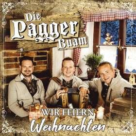 Die Pagger Buam: Wir feiern Weihnachten, CD