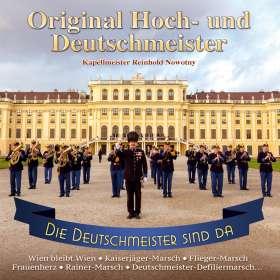 Original Hoch-Und Deutschmeister: Die Deutschmeister sind da-Instrumental, CD
