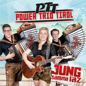 PTT (Power Trio Tirol): Jung samma iaz, CD