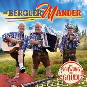 Die Bergler Mander: Mit Schwung und Gaudi, CD